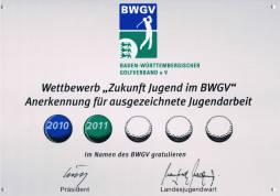 BWGV-Auszeichnung