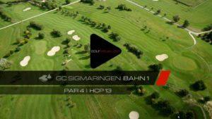 Golfclub Sigmaringen Bahn 1