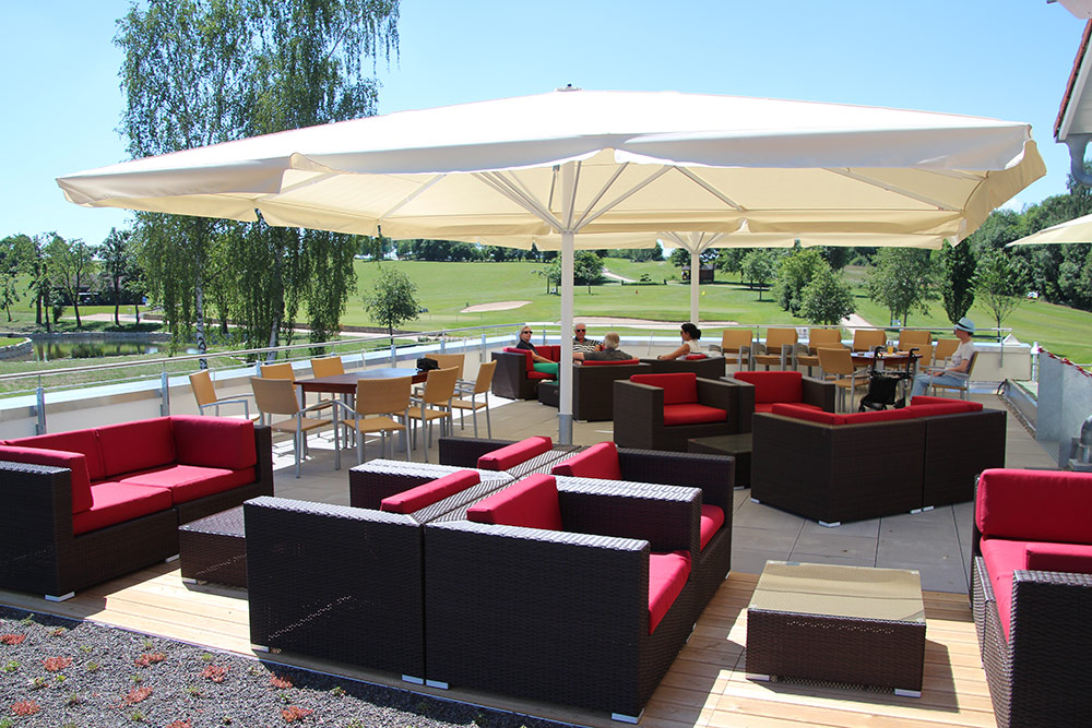Golfclub Sigmaringen Terrasse