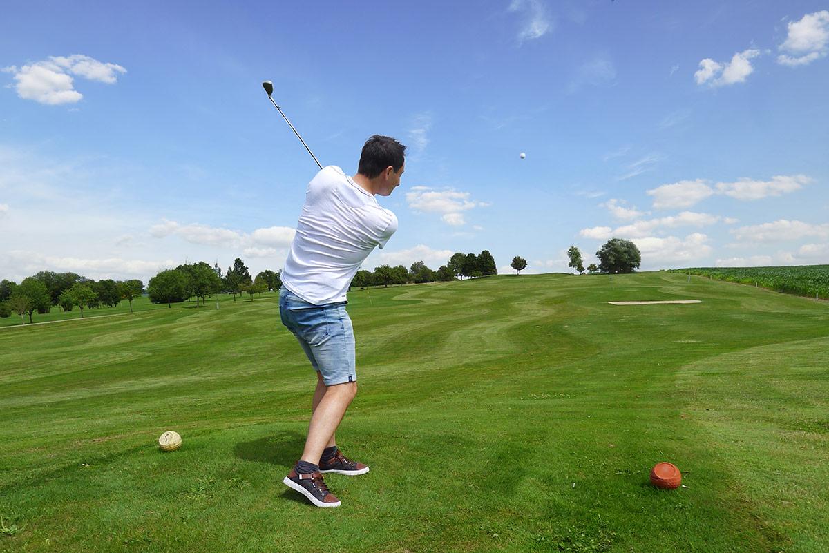 Golfclub Sigmaringen Kurzplatz Golf lernen